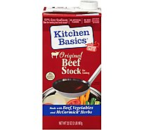 Kitchen Basics Beef Stock All Natural Original - 32 Fl. Oz.