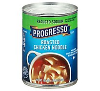 Progresso Soup Reduced Sodium Roasted Chicken Noodle - 18.5 Oz