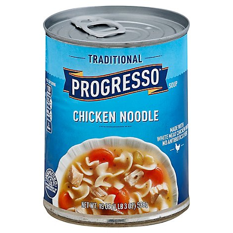 Progresso Traditional Soup Chicken Noodle - 19 Oz
