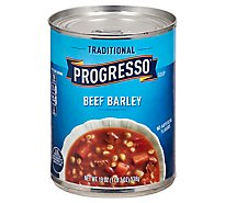 Progresso Traditional Soup Beef Barley - 19 Oz