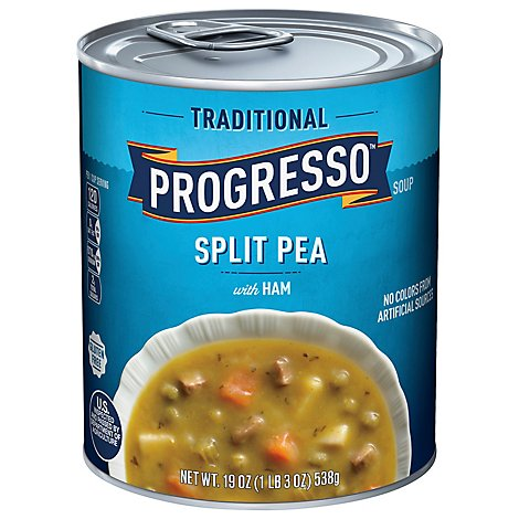 Progresso Traditional Soup Split Pea with Ham - 19 Oz