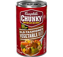 Campbells Chunky Soup Old Fashioned Vegetable Beef - 18.8 Oz