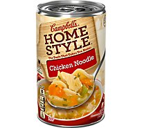 Campbells Home Style Soup Chicken Noodle - 18.6 Oz
