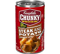 Campbells Chunky Soup Steak and Potato - 18.8 Oz