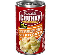 Campbells Chunky Soup Chicken Broccoli Cheese With Potato - 18.8 Oz