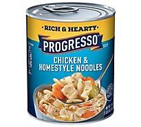 Progresso Rich & Hearty Soup Chicken & Homestyle Noodles - 19 Oz