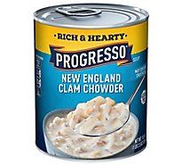 Progresso Rich & Hearty Soup New England Clam Chowder - 18.5 Oz