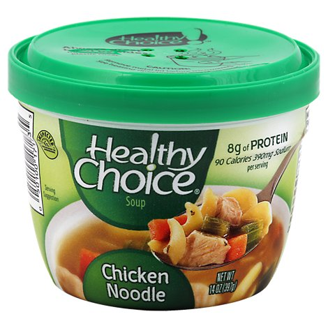 Healthy Choice Soup Chicken Noodle - 14 Oz
