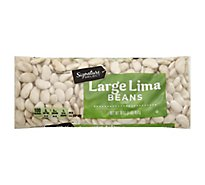 Signature SELECT Beans Lima Large - 16 Oz
