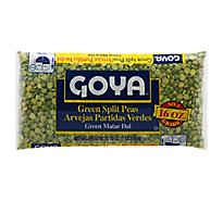 Goya Peas Split Green - 16 Oz