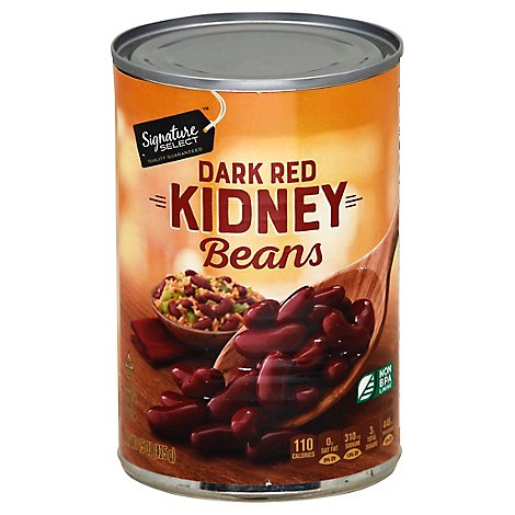 Signature SELECT Beans Kidney Dark Red - 15 Oz