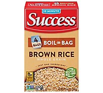 Success Boil-in-Bag Rice Whole Grain Brown Rice - 14 oz