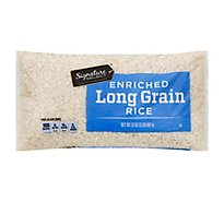 Signature SELECT Rice Enriched Long Grain - 32 Oz