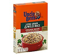 Uncle Bens Rice Long Grain & Wild Original Recipe Box - 6 Oz