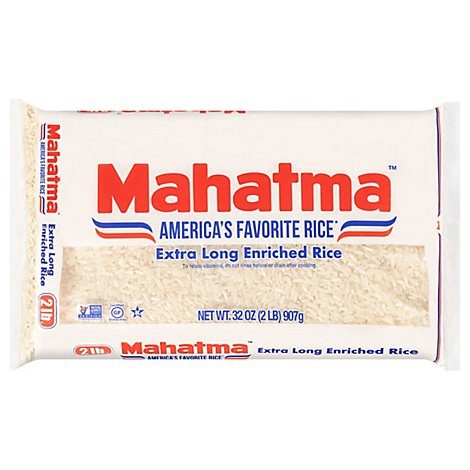 Mahatma Rice Enriched Extra Long Grain - 32 Oz