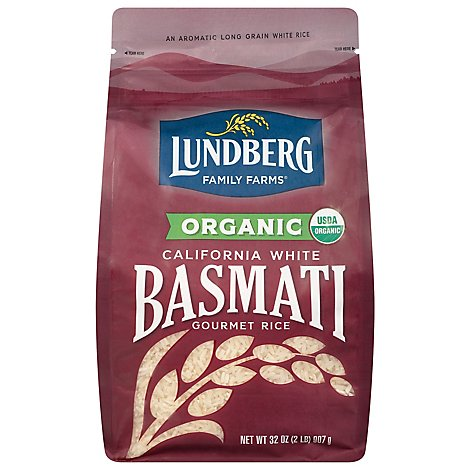Lundberg Essences Organic California Rice White Basmati - 32 Oz