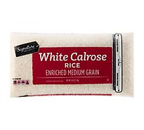 Signature SELECT Rice Calrose Medium Grain - 5 Lb