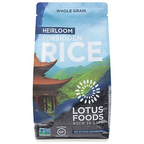 Lotus Foods Rice Forbidden - 15 Oz