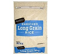 Signature SELECT Rice Enriched Long Grain - 20 Lb