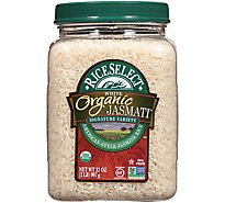 Rice Select Organic Jasmati Rice Jasmine Long Grain American - 36 Oz