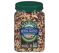 Rice Select Royal Blend Texmati Rice Blend White Brown Wild & Red - 21 Oz