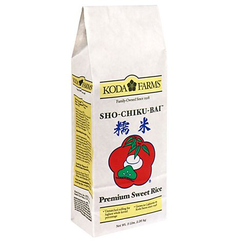 Koda Farms Rice Premium Sweet Sho-Chiku-Bai - 5 Lb