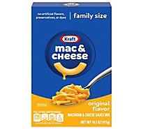 Kraft Macaroni & Cheese Dinner Original Family Size Box - 14.5 Oz