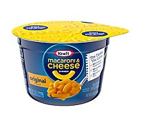 Kraft Macaroni & Cheese Dinner Original Cup - 2.05 Oz
