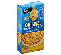 Signature SELECT Macaroni & Cheese Dinner Original Box - 7.25 Oz