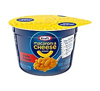 Kraft Macaroni & Cheese Dinner Triple Cheese Cup - 2.05 Oz