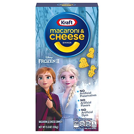 Kraft Macaroni & Cheese Dinner Disney Olafs Frozen Adventure Box - 5.5 Oz