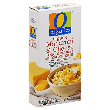 O Organics Organic Macaroni Cheese Box - 7.25 Oz