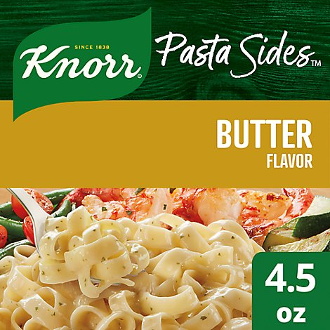 Knorr Pasta Sides Fettuccini Butter Pouch - 4.5 Oz