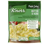 Knorr Pasta Sides Fettuccini Butter & Herb Pouch - 4.4 Oz