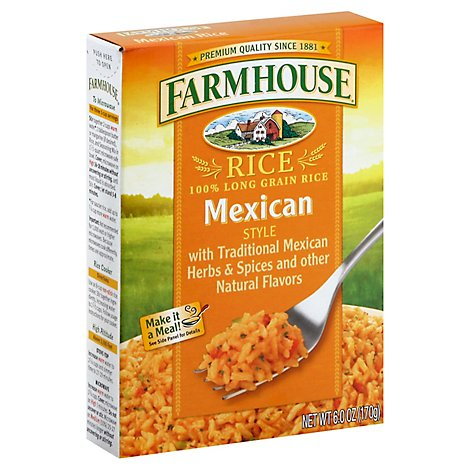 Farmhouse Rice Mexican Style Box - 6 Oz