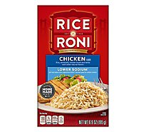 Rice-A-Roni Rice Chicken Flavor Lower Sodium Box - 6.9 Oz