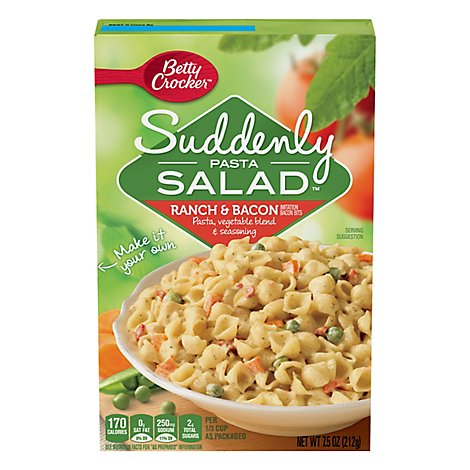 Suddenly Salad Pasta Salad Ranch & Bacon Box - 7.5 Oz