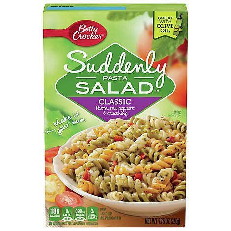 Suddenly Salad Pasta Salad Classic Box - 7.75 Oz