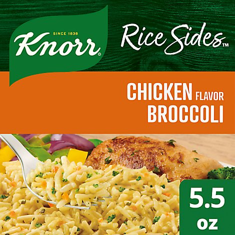 Knorr Rice Sides Chicken Broccoli - 5.5 Oz