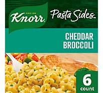 Knorr Pasta Sides Spiral Cheddar Broccoli Pouch - 4.3 Oz
