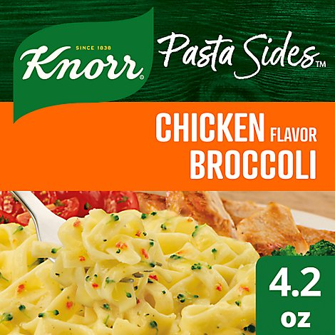 Knorr Pasta Sides Fettuccini Chicken Broccoli Pouch - 4.2 Oz