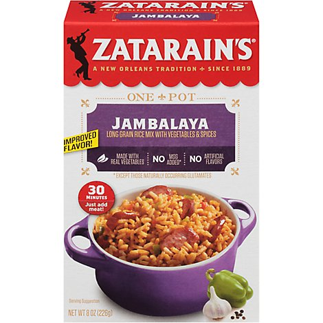 Zatarains Mix Rice Jambalaya - 8 Oz