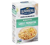 Lundberg Risotto Garlic Primavera Box - 5.5 Oz
