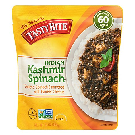 Tasty Bite Spinach Kashmir - 10 Oz