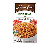 Near East Rice Pilaf Mix Spanish Rice Box - 6.75 Oz
