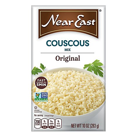 Near East Couscous Mix Original Plain Box - 10 Oz