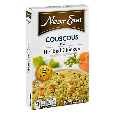 Near East Couscous Mix Herbed Chicken Box - 5.7 Oz