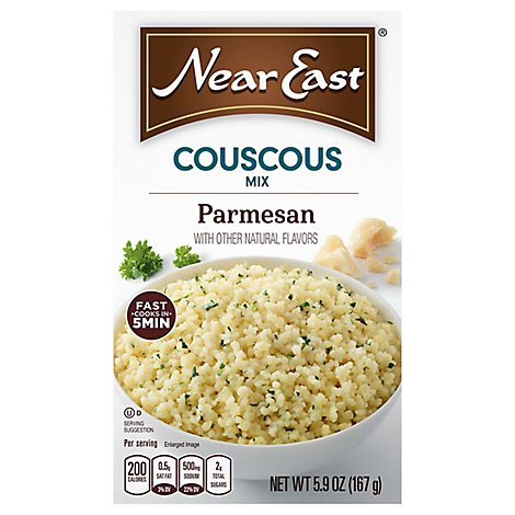 Near East Couscous Mix Parmesan Box - 5.9 Oz