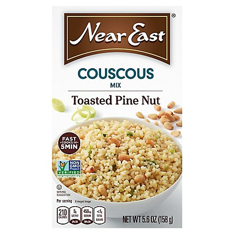 Near East Couscous Mix Toasted Pine Nut Box - 5.6 Oz