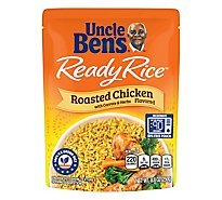 Uncle Bens Ready Rice Roasted Chicken Flavored Pouch - 8.8 Oz
